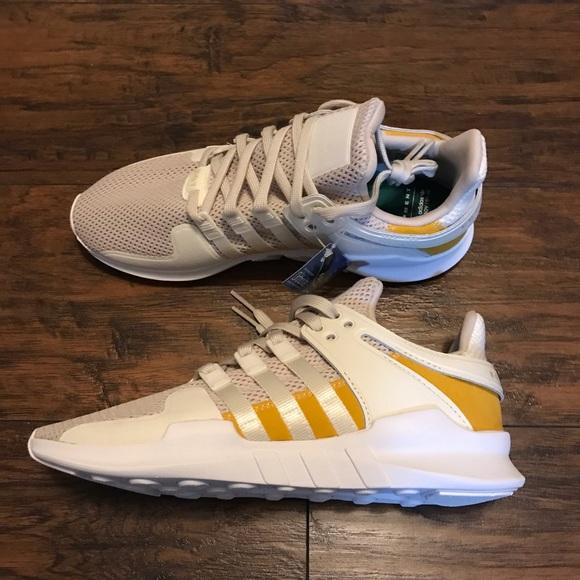 free shipping 07010 2ca34 Adidas EQT Support ADV White Cream Tan size 11 NWT